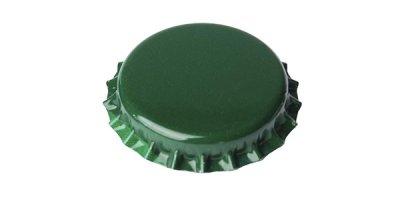 Tapa Corona Verde por 144 Unidades